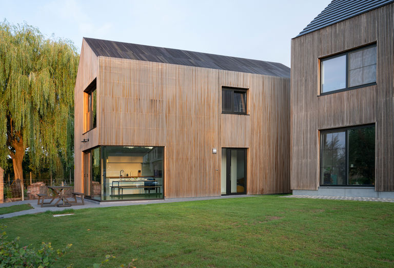 Architectuurpareltje in België, nabij Leuven