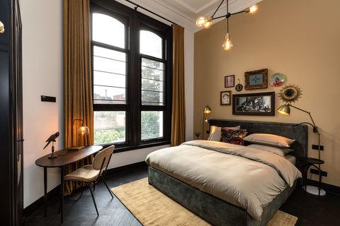 Slapen in een luxe, art deco boutique hotel