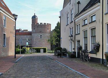 Familiekamer in middeleeuwse toren