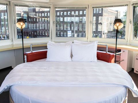 Unieke overnachtingsplek in Amsterdam