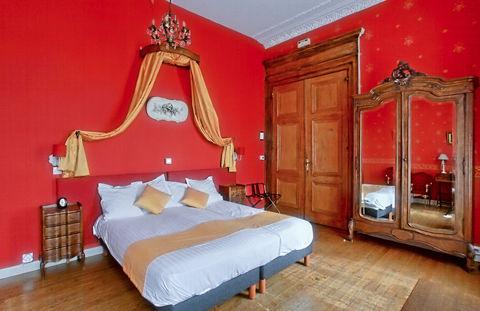 Kasteelovernachting op een Frans chateau