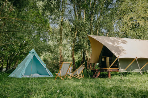 Vierpersoons glamping tent in Brabant