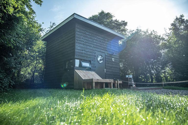 Tiny house met uitzicht op de sterren
