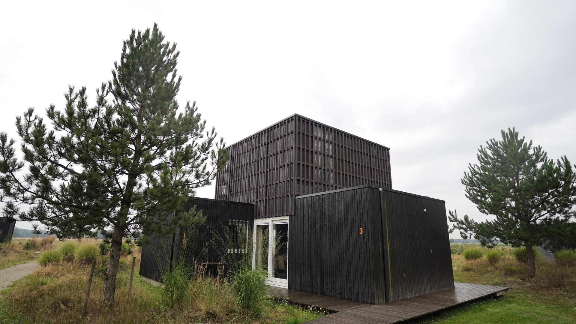 Vakantiehuisje met hottub midden in de natuur