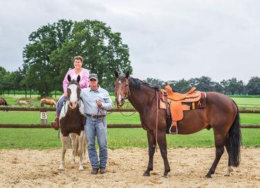 Overnachting op een ranch incl. paardrijles