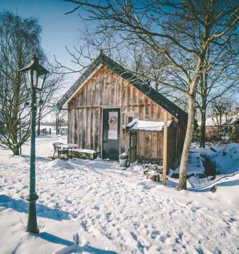 Tiny house in groene en historische omgeving