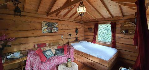 Prachtige boomhut in Friesland