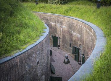 Bijzonder slapen in een oud Nederlands fort