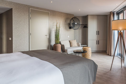 Design hotel direct aan strand en zee