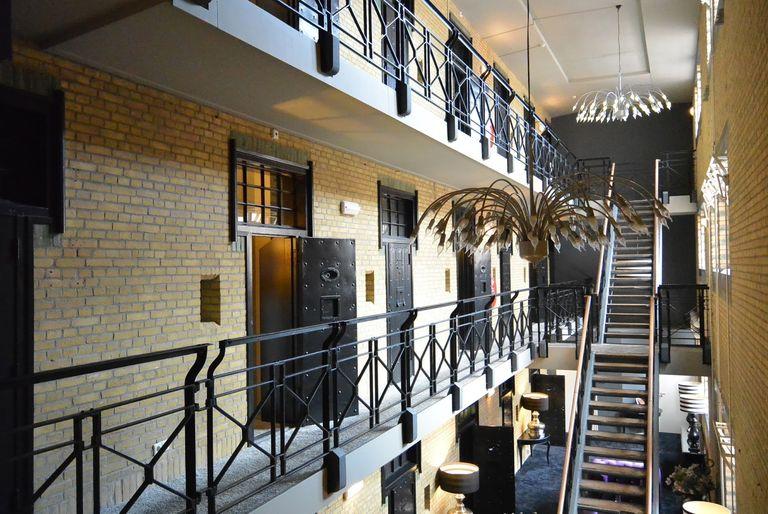 Royale suite in voormalige gevangenis