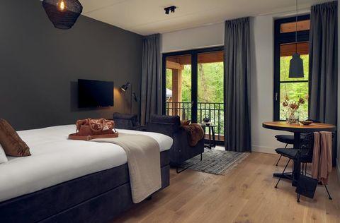 Prachtig boutique hotel midden in het bos