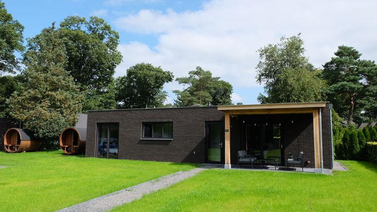 Luxe bungalow voor 4 personen met privé sauna