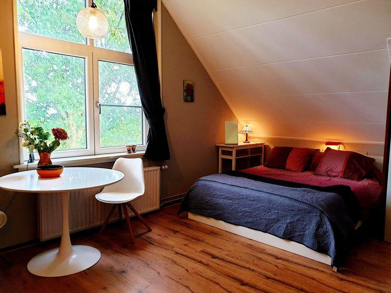 Kamer op een boerderij in landelijk Amsterdam