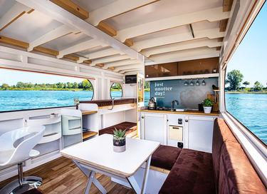 Vier vakantie op je eigen huisboot