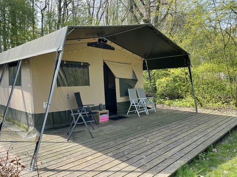 Grote safaritent voor 6 personen in Flevoland