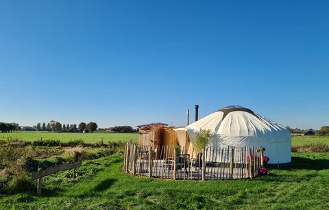 Luxe Yurt in boutique-stijl