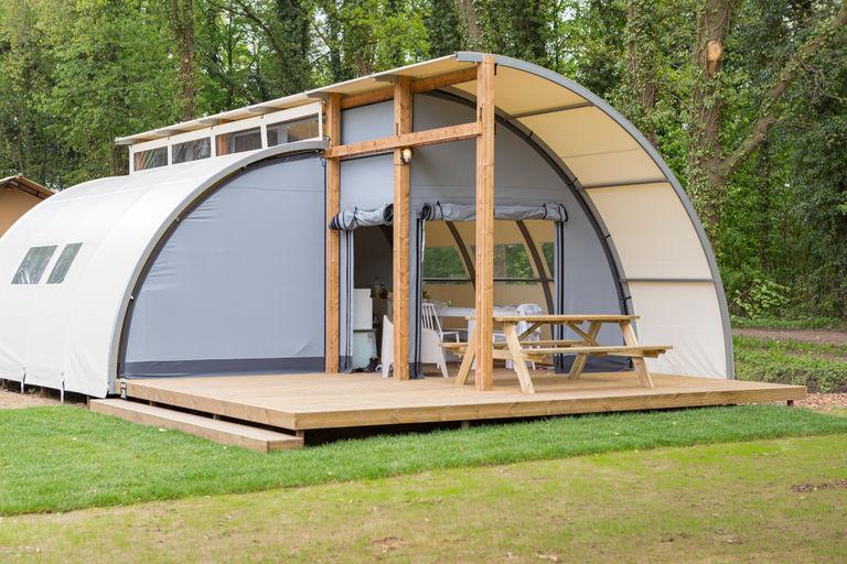 Design tent voor een vakantie in Gelderland