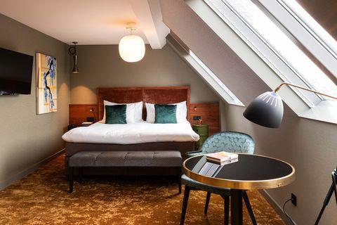 3-persoons hotelkamer in Chinese sferen