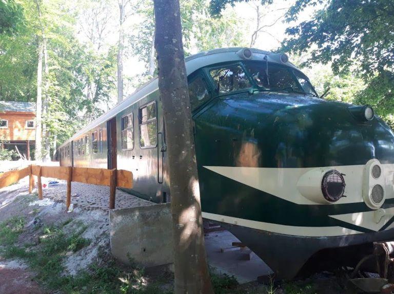 Authentieke NS trein