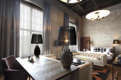 De 'Presidential Suite' in een boutique hotel