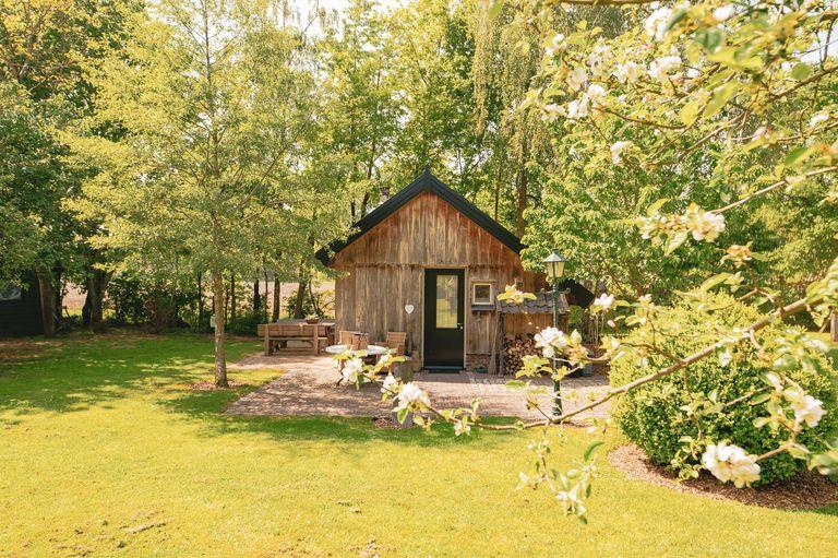 Tiny house in mooie en historische omgeving
