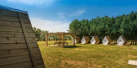 2 duurzame hutten op wandelafstand van Knokke