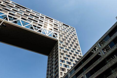 Slapen in spraakmakend gebouw in Amsterdam