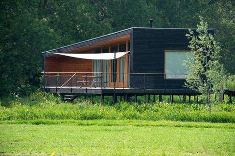 Houten vakantiehuis vlakbij Amsterdam!