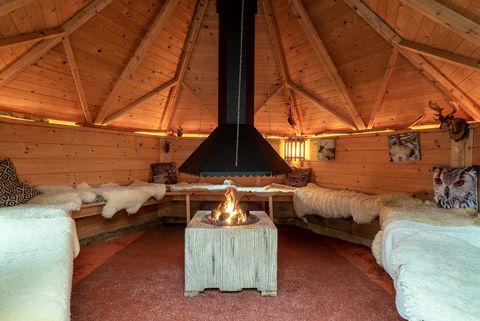 Iglo met privé sauna, buitendouche en tuin