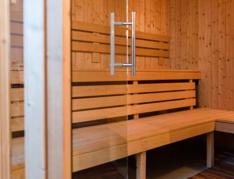 Genieten van privé sauna en jacuzzi