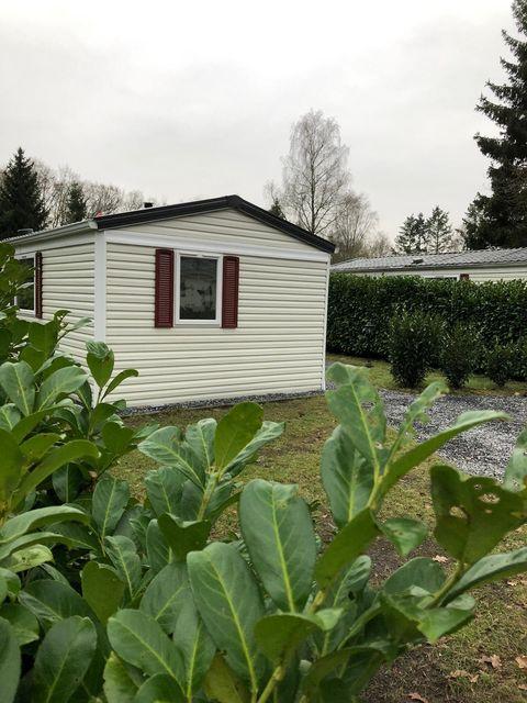 Leuk Tiny House op kleinschalig bosrijk park