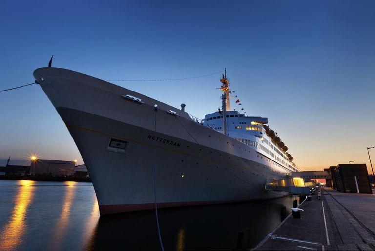 Heerlijke overnachting op een imposant schip