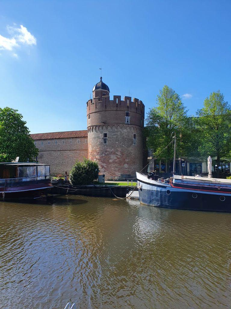 Middeleeuwse toren in Zwolle