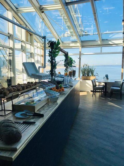 Zeezicht suite op de Pier in Scheveningen