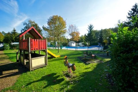 Ruim chalet op een kleinschalig park