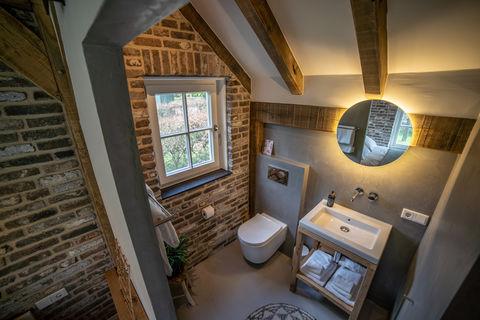Luxe tiny house in rust en groen