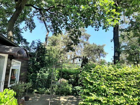 Natuurhuisje met omheinde tuin