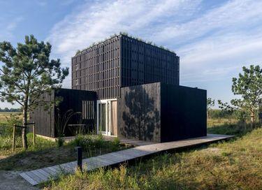 Natuurlodge met sauna en hottub
