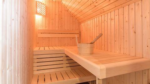 Statig vakantiehuis met sauna en tuin