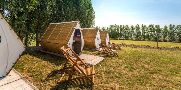 Duurzame hut op wandelafstand van Knokke