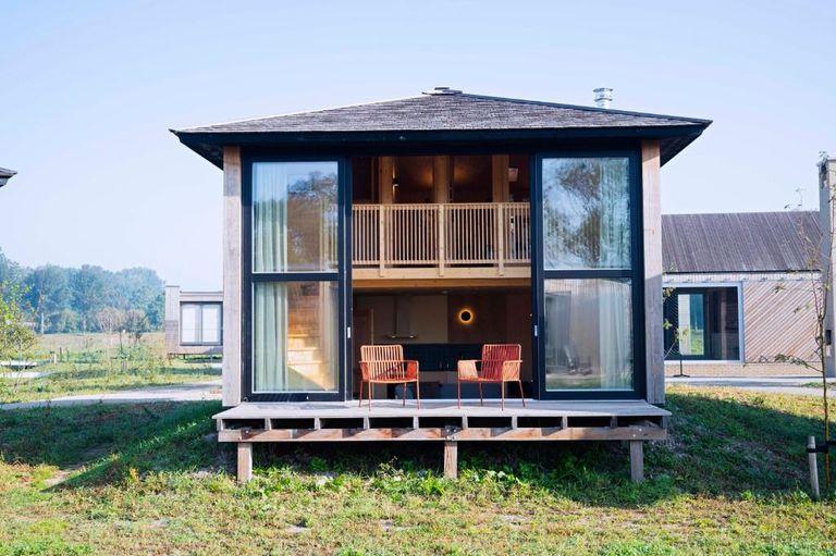 Prachtig vakantiehuisje op hip vakantiepark