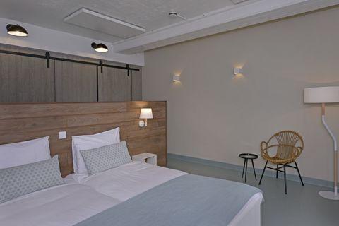 Prachtige design kamer direct op het strand!