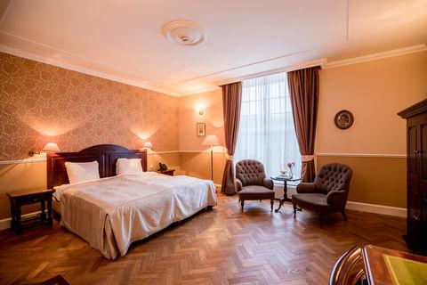 Luxe suite in 19e eeuws kasteel