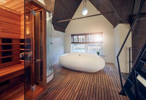 Vakantiehuisje aan de Amstel met wellness