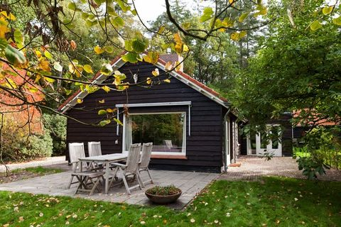 Luxe vakantiehuis bij het bos voor 4 pers.