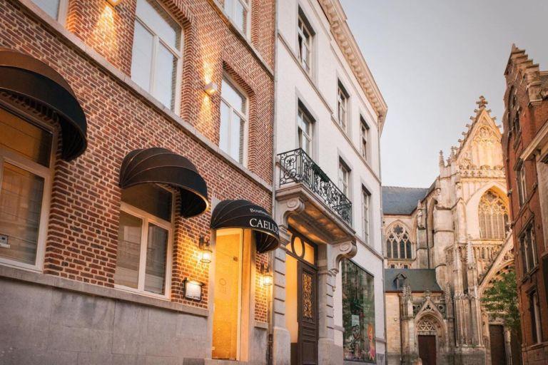Boutique hotel in historische Belgische stad