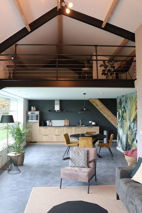 Overnachten in luxe en modern 'kippenhok'