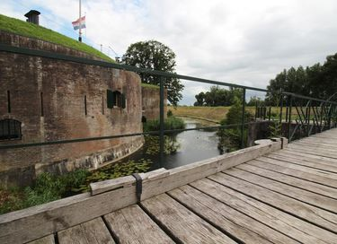 Luxe suite in een oud Nederlands Fort