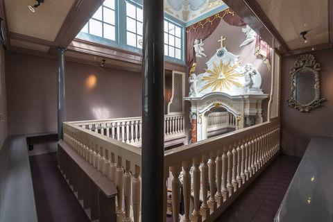 Een verborgen kapel in hartje Amsterdam