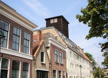 Luxe appartement op het dak van een pakhuis